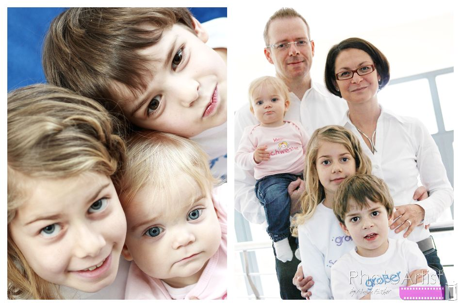 Familie in Familienshooting